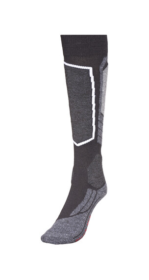 Falke SK2 Skiing Sokken Dames grijs/zwart